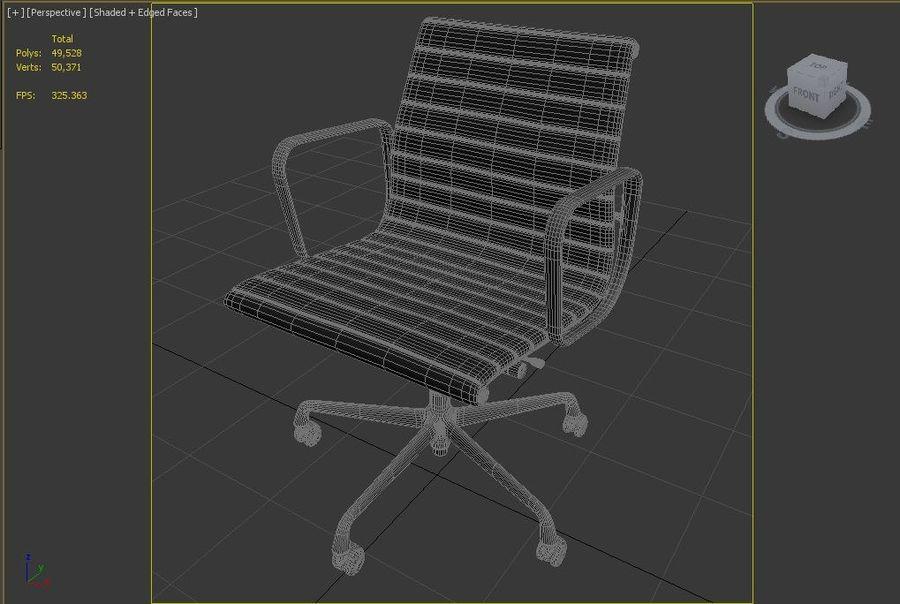 办公椅1 royalty-free 3d model - Preview no. 6