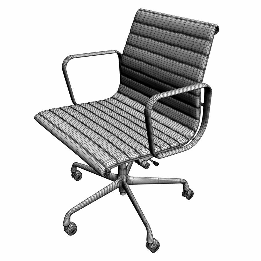 办公椅1 royalty-free 3d model - Preview no. 3