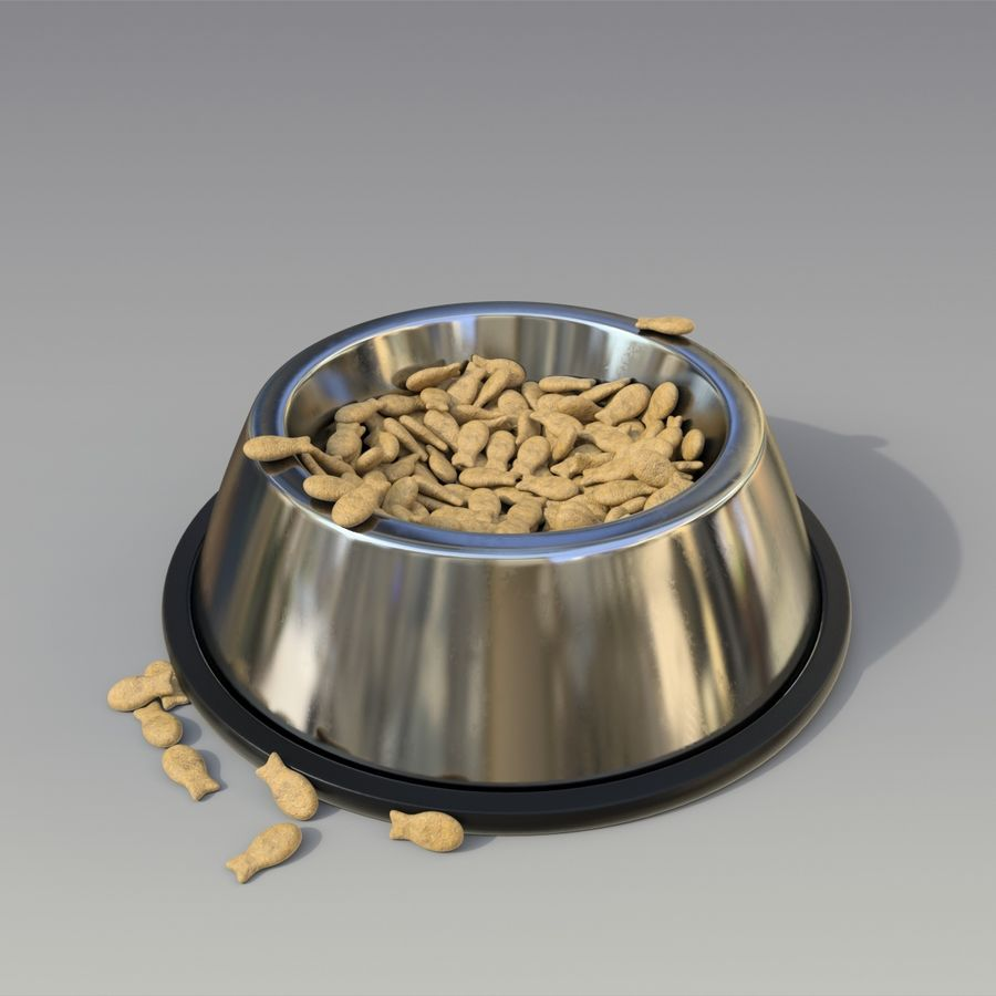 ciotola per animali domestici royalty-free 3d model - Preview no. 4