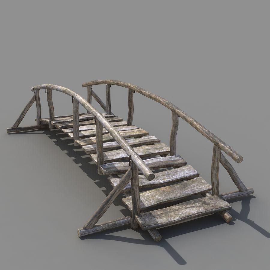 Ponte di Legno royalty-free 3d model - Preview no. 4
