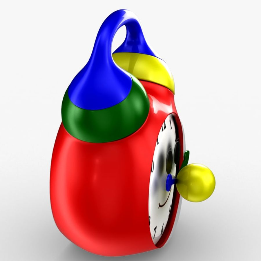Tolo Toy Clock royalty-free 3d model - Preview no. 6