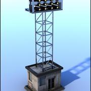 スタジアム照明パネル 3d model