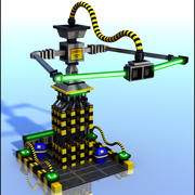 Sci-Fi Structure 3d model