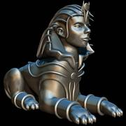 Sphinx 3d model