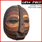 アフリカのマスク 3d model