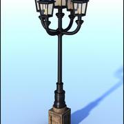 Retro City Lamp 3d model