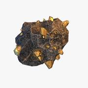 Meteor Ore Gold modelo 3d