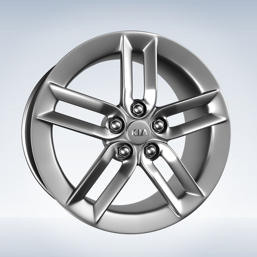 Kia optima Rim royalty-free 3d model - Preview no. 3