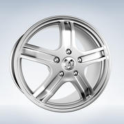Dodge ram Rim modelo 3d