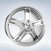 Dodge ram Rim 3d model