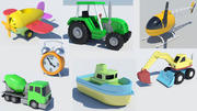 Toys collection 3d model