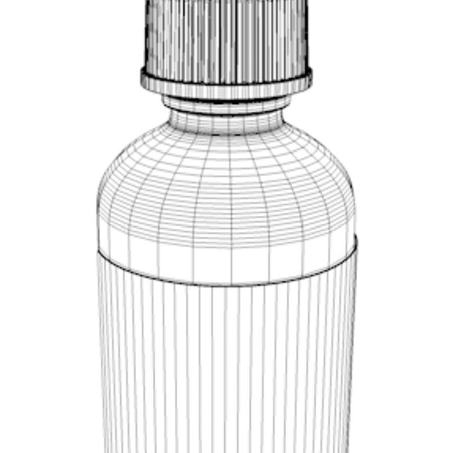 glazen druppelaar groen royalty-free 3d model - Preview no. 2
