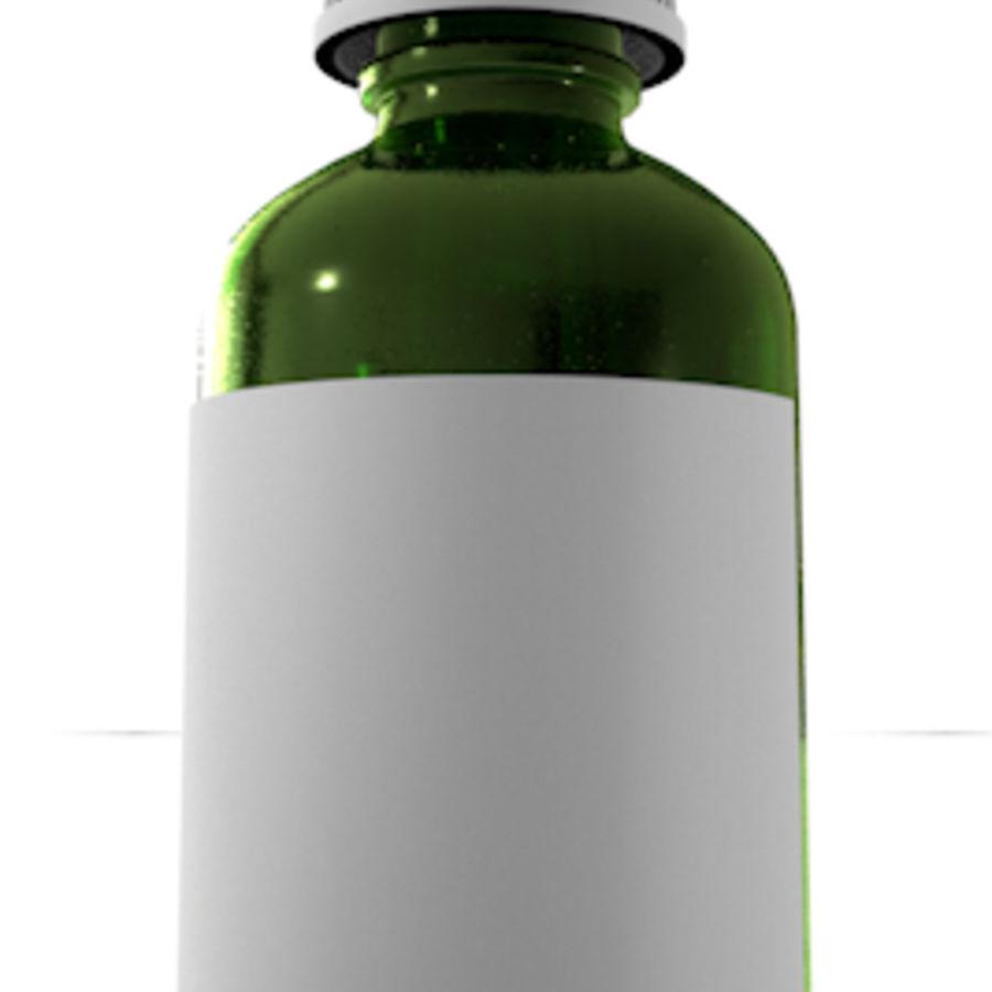 glazen druppelaar groen royalty-free 3d model - Preview no. 1