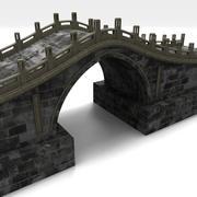 Ponte di pietra 3d model