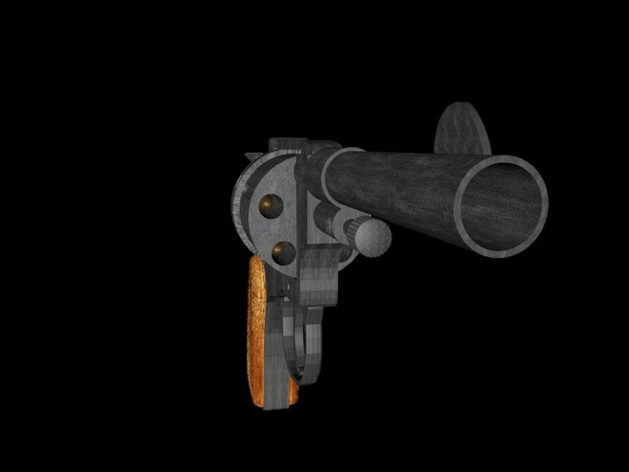 revólver revólver royalty-free modelo 3d - Preview no. 2