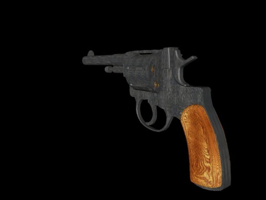 revólver revólver royalty-free modelo 3d - Preview no. 1
