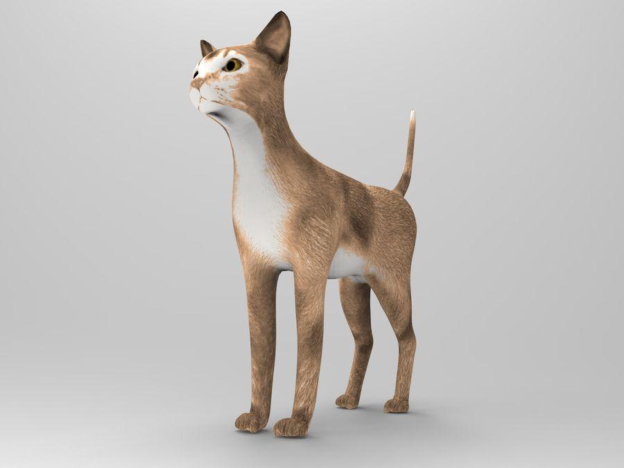 猫模型 royalty-free 3d model - Preview no. 6