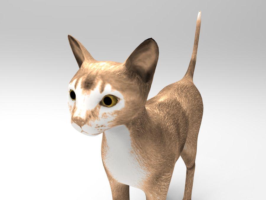 猫模型 royalty-free 3d model - Preview no. 8