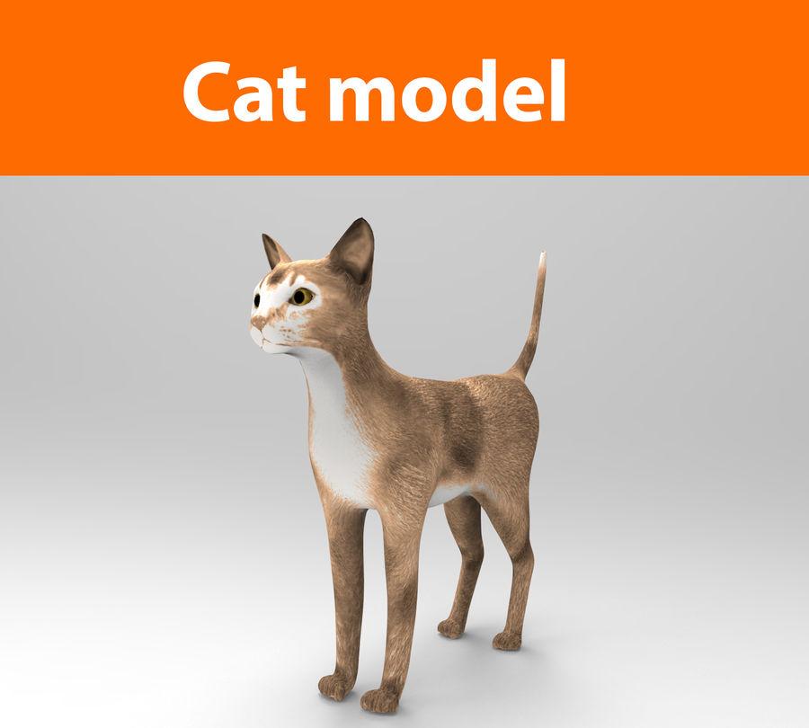 猫模型 royalty-free 3d model - Preview no. 1