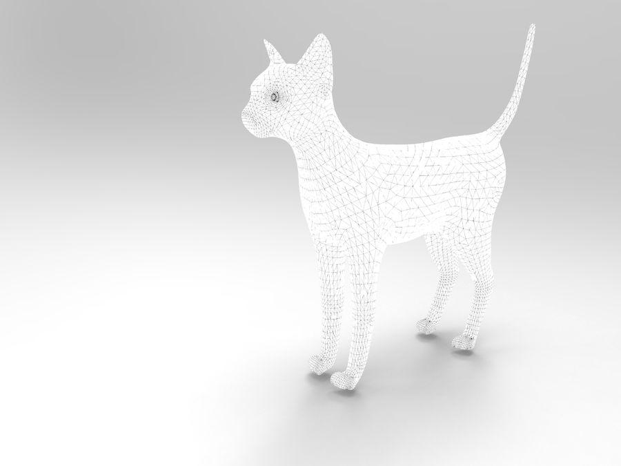 猫模型 royalty-free 3d model - Preview no. 10