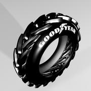 Tructor tyre 3d model