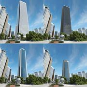 Skyscrapers_bundle_002 3d model