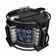 Sci Fi City Building Game Asset 15 - VR AR Sci-Fi Pro Model 3d model