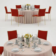 banquet_table_6 3d model