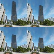 Trump World Tower bundle 3d model