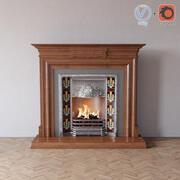 クラシック暖炉 3d model
