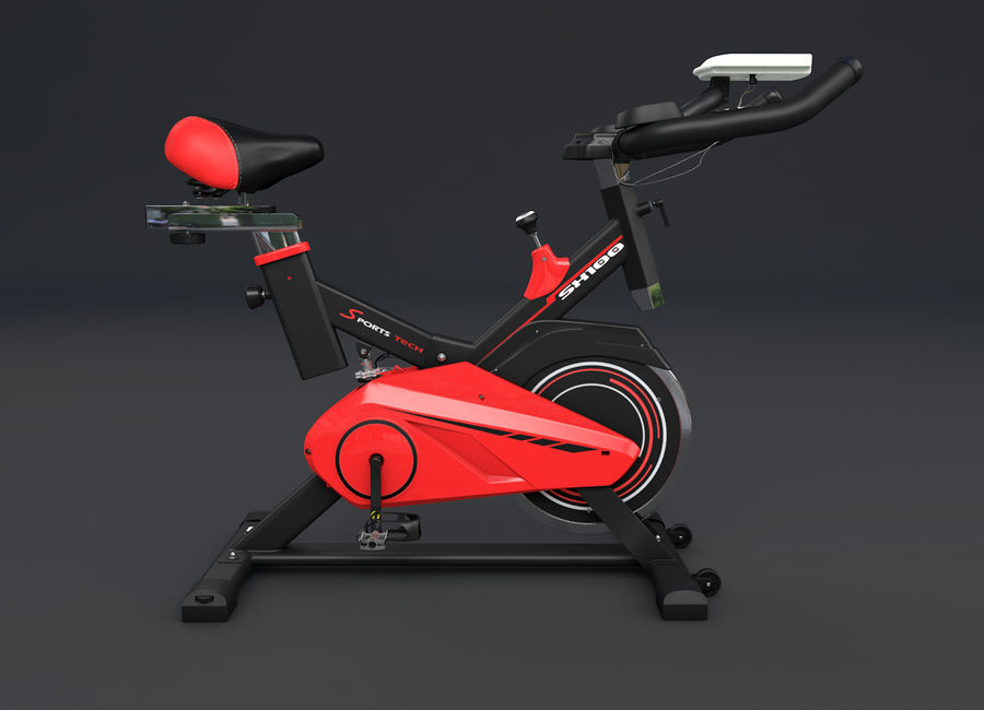 cykel gym royalty-free 3d model - Preview no. 2