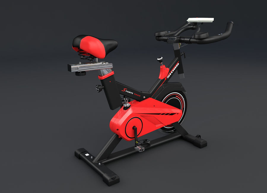 cykel gym royalty-free 3d model - Preview no. 4
