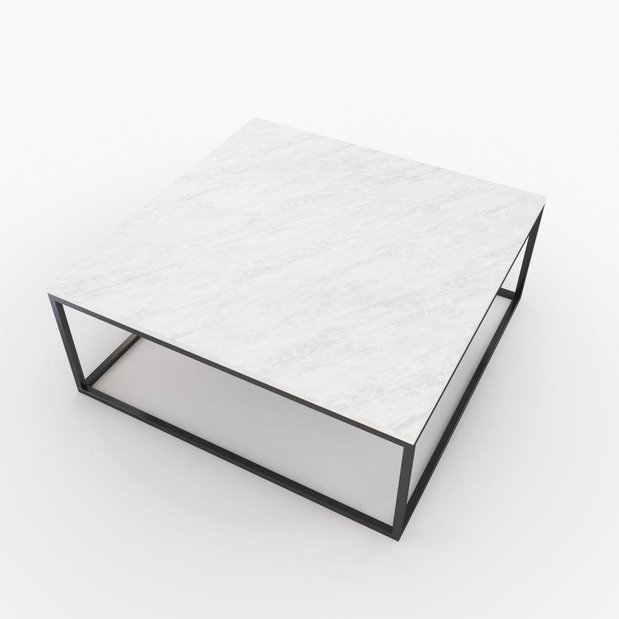 Gilmore marmeren salontafel royalty-free 3d model - Preview no. 4