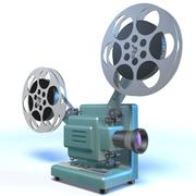 Projecteur de film 3d model