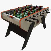 Stół piłkarski 3d model