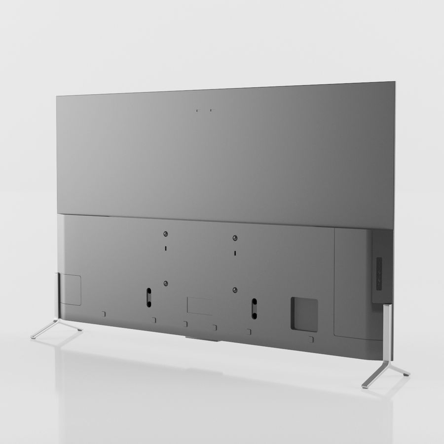 SONY XBR-55x900C: XBR-65900C: XBR-75910C royalty-free 3d model - Preview no. 3