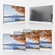 SONY XBR-55x900C: XBR-65900C: XBR-75910C 3d model