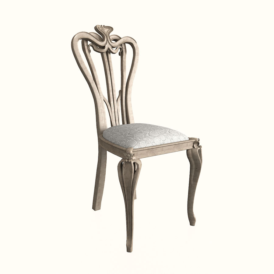 Chair classic royalty-free 3d model - Preview no. 1