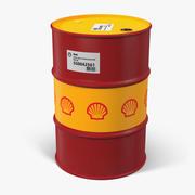 Oil Barrel Shell 3d model