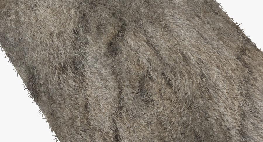 Carpet Rug Fur royalty-free 3d model - Preview no. 5