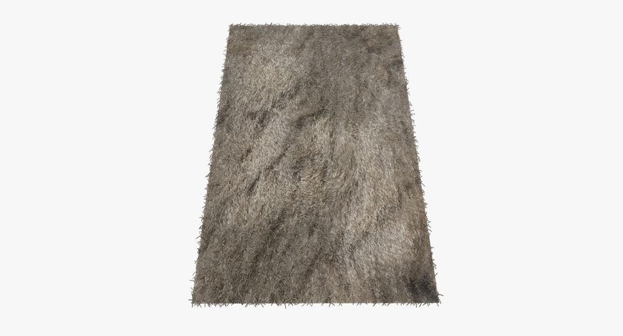 Carpet Rug Fur royalty-free 3d model - Preview no. 2