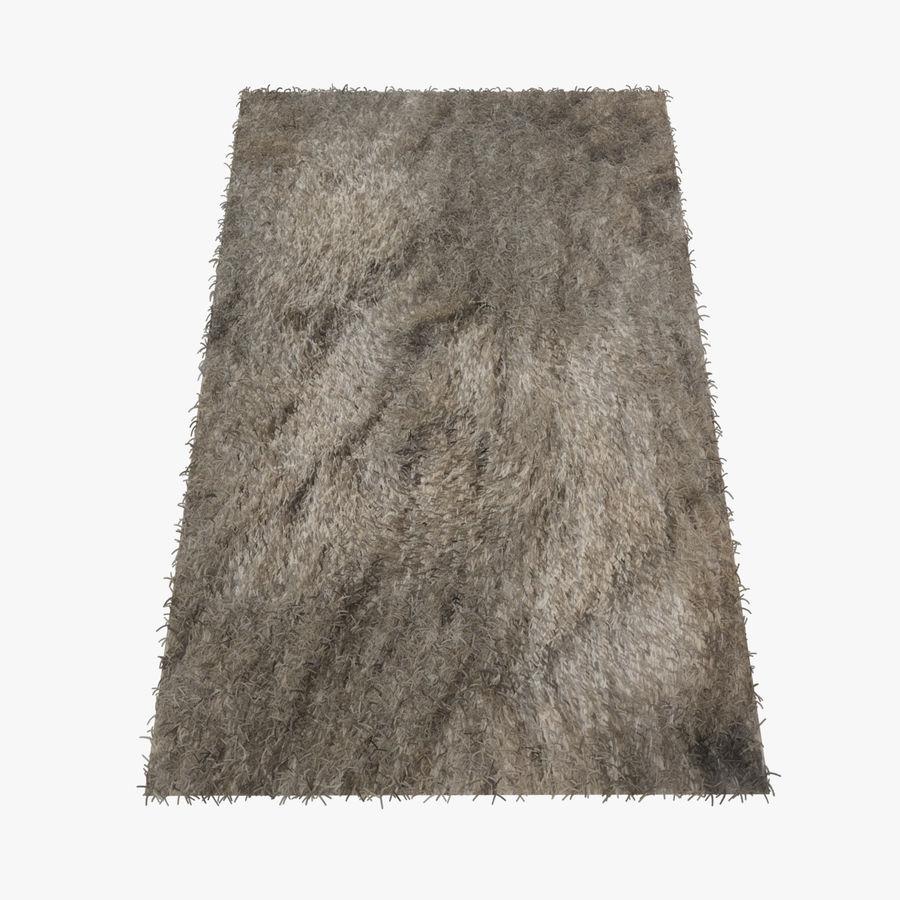 Carpet Rug Fur royalty-free 3d model - Preview no. 1