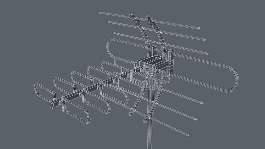 Antenne royalty-free 3d model - Preview no. 11