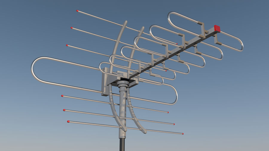 Antenna royalty-free 3d model - Preview no. 1