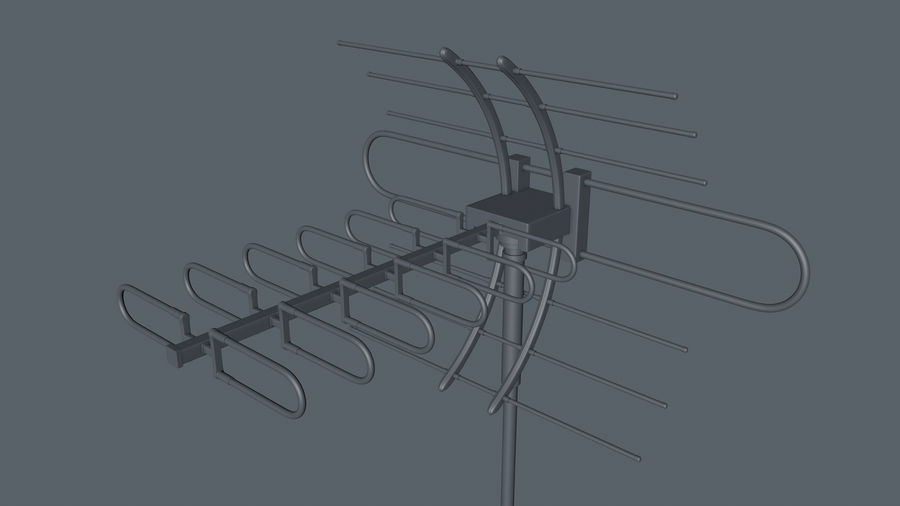 Antenna royalty-free 3d model - Preview no. 10