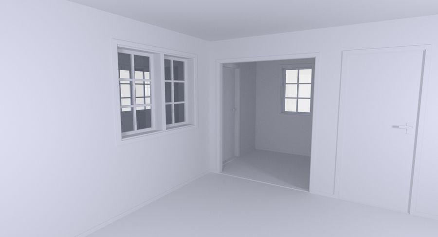 인테리어 하우스 5 royalty-free 3d model - Preview no. 9