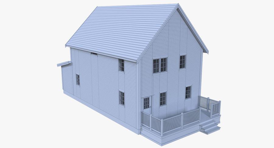 인테리어 하우스 5 royalty-free 3d model - Preview no. 15
