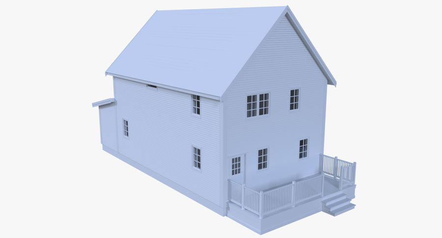 인테리어 하우스 5 royalty-free 3d model - Preview no. 3