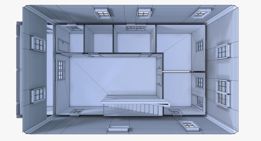 인테리어 하우스 5 royalty-free 3d model - Preview no. 25