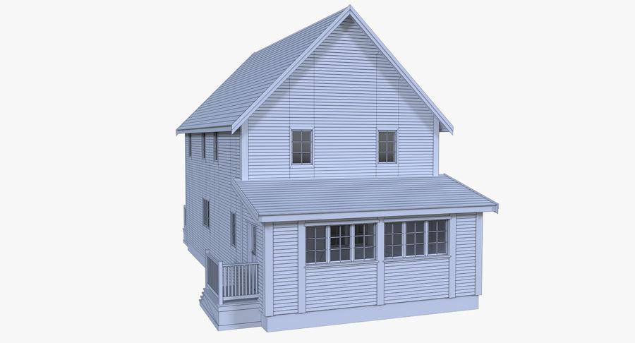 인테리어 하우스 5 royalty-free 3d model - Preview no. 17